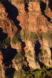 Early morning light on rugged canyon ridges Royalty Free Stock Images