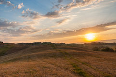 Early morning light  in the Tuscany. Early morning light in the Tuscany region of Italy Stock Image