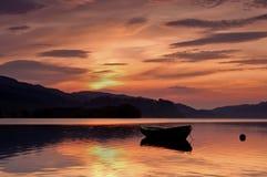 Early morning on loch avich Stock Image