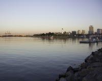 Early Morning Long Beach Royalty Free Stock Photos