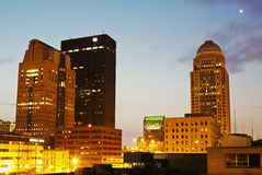 Early morning in Louisville, Kentucky. USA stock photography