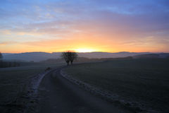 Early morning in Luxembourg Stock Photography