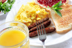 Early morning meal Stock Photos