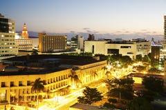 Early morning in Miami Stock Photos