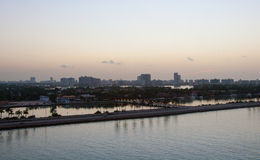 Early morning in Miami, Florida Stock Image