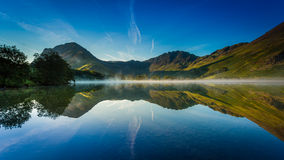 Early morning mist on Buttermere Stock Photography