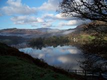Early morning mist in the Lake District Stock Photos
