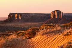 Early morning Monument Valley Stock Photos