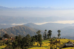 Early morning in Nagarkot 2 Stock Photography