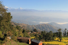 Early morning in Nagarkot 3 Royalty Free Stock Images