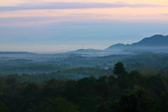 Early morning at Nam-Prao village,Phrae,Thailand Stock Images