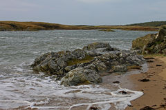 Early Morning near Four Mile Bridge, Anglesey Stock Photography
