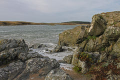 Early Morning near Four Mile Bridge, Anglesey Stock Images
