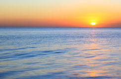 Early morning ocean Royalty Free Stock Images