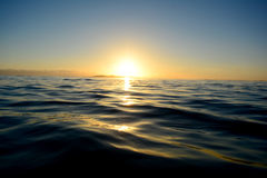 Early morning on the ocean Royalty Free Stock Image