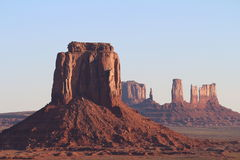 Early morning in Oljato-Monument Valley Royalty Free Stock Photo