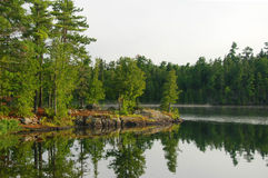 Early Morning on Ottertrack Lake Royalty Free Stock Photos
