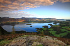 Early morning over Derwent Water Stock Photography