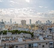 Early morning panorama of Tel Aviv Stock Photo