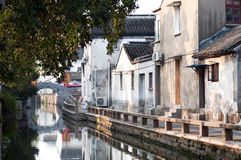 Early morning on Pingjianglu, Suzhou, China Stock Images