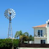 Early morning Protaras town Cyprus Stock Images