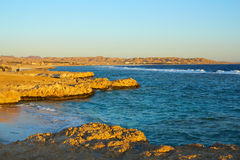 Early morning on the Red Sea Royalty Free Stock Images