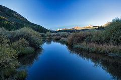 Early Morning Reflection Stock Images