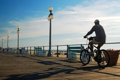Early morning ride Royalty Free Stock Photography