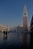 Early morning at San Marco square Royalty Free Stock Image