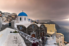 Early morning in Santorini Stock Photos