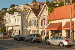 Early morning in Sausalito, California Royalty Free Stock Image