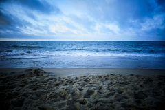 See the sea on holiday royalty free stock photo