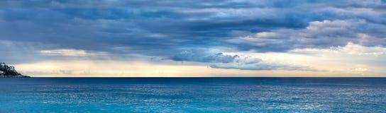 Early morning seascape Stock Photos
