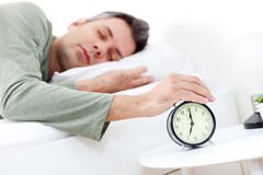 Early morning snooze Stock Photos