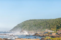 Early morning at Storms River Mouth Stock Photos