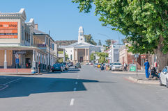 Early morning street scene in Colesberg, South Africa Royalty Free Stock Image