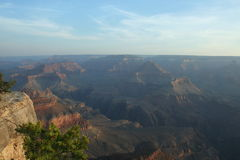 Early Morning Sun at The Grand Canyon Royalty Free Stock Photography