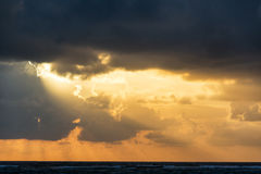 Early Morning Sun Rays Stock Photos