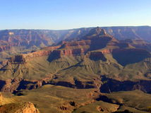 Sunrise over Grand Canyon - view from Mather Point stock photography