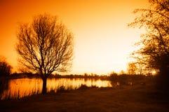Early morning sunrise Royalty Free Stock Image