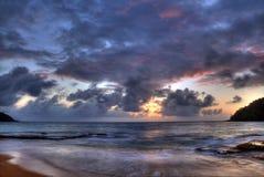 Early Morning Sunrise Hawaii Stock Photo