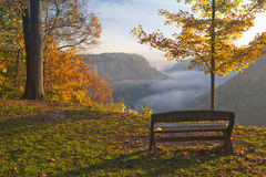 Early Morning Sunrise At Letchworth Royalty Free Stock Image