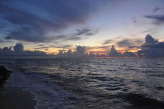 Early morning sunrise over Miami Beach Stock Image