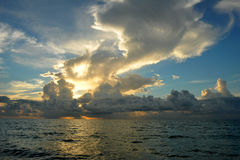 Early morning sunrise over Miami Beach Royalty Free Stock Images