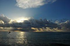 Early morning sunrise over Miami Beach Royalty Free Stock Photos