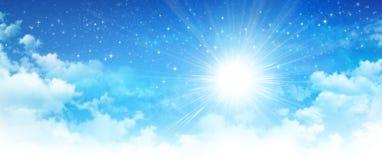 Early morning sunshine Stock Image