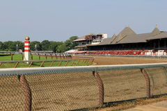 Early morning sunshine at the Saratoga Race Track, New York,2015 Stock Photography