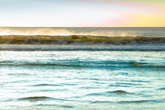 Early morning surf Royalty Free Stock Photos