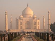 Early morning at Taj Mahal royalty free stock images