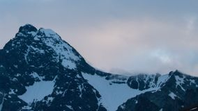 Early morning time lapse at the Grossglockner stock video